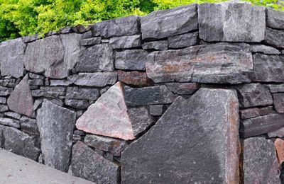 Outdoor Walls & Retaining Wall Construction